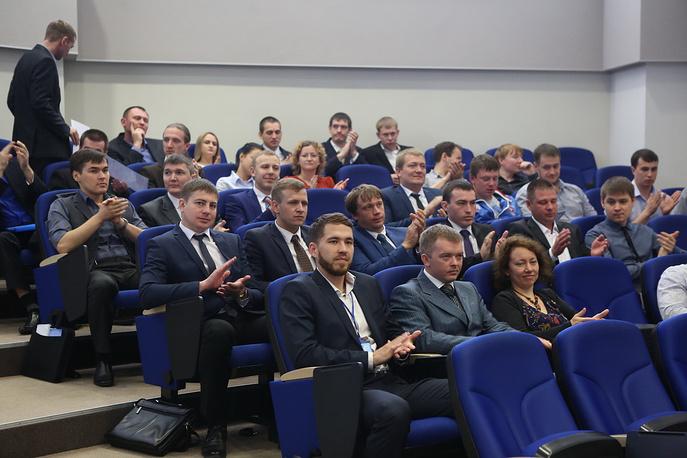 Вручение наград победителям, призерам и лауреатам отраслевых смотров Газпрома