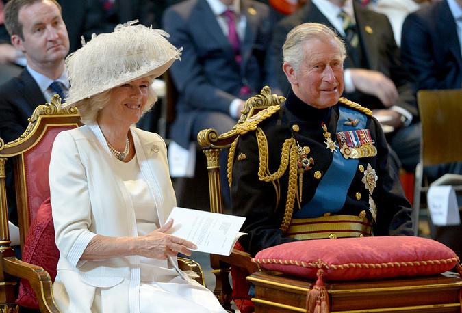 Герцогиня Корнуольская Камилла и британский наследный принц Чарльз