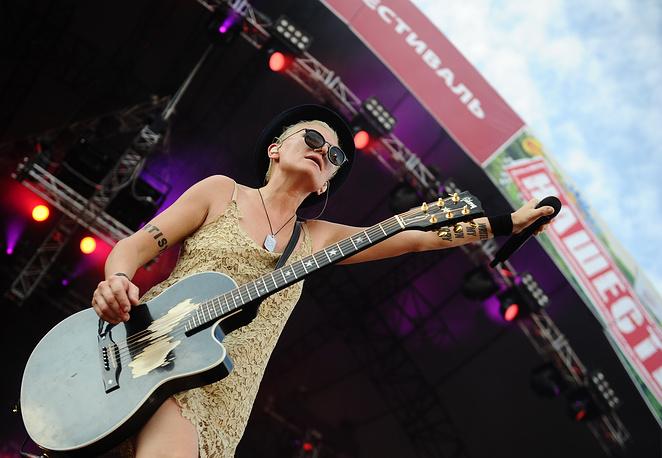 Диана Арбенина открыла фестиваль