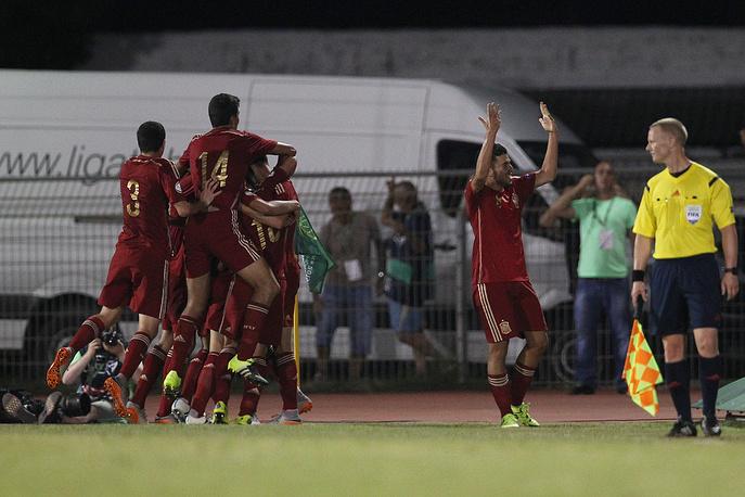 Сборная Испании в седьмой раз в истории выиграла чемпионат Европы в этом возрасте
