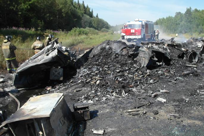 22 июля автобус, следовавший по маршруту Шарыпово - Красноярск, столкнулся с грузовиком. В результате аварии погибли 11 человек, 44 получили травмы. Причины ДТП пока не выяснены. Возбуждено два уголовных дела