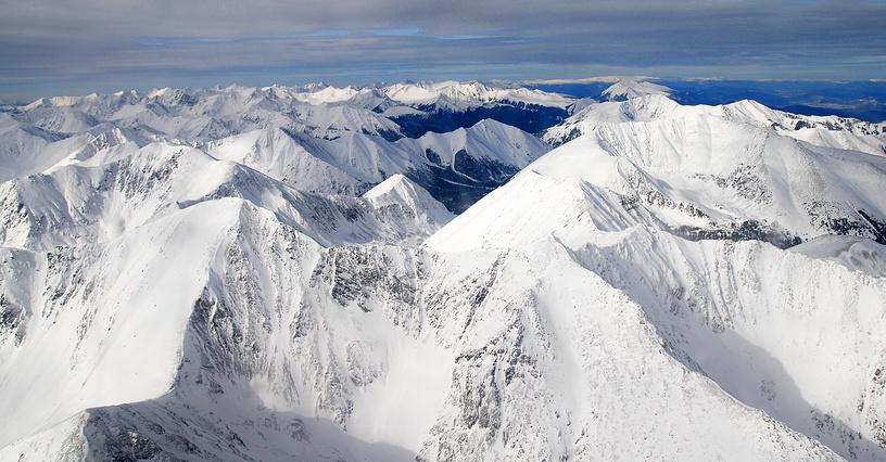 Горы Монгун-Тайгинского района Тувы