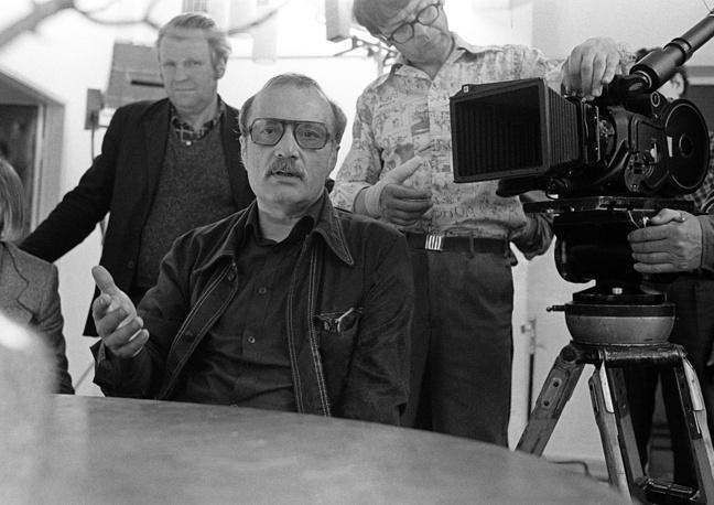Данелия на съемочной площадке, 1978 год