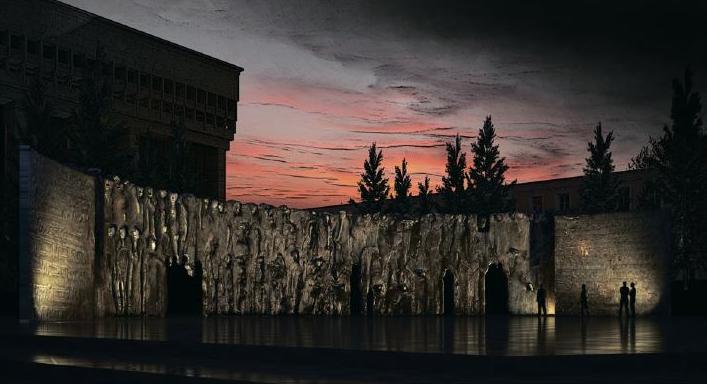 Стена Скорби. Автор: Георгий Франгулян