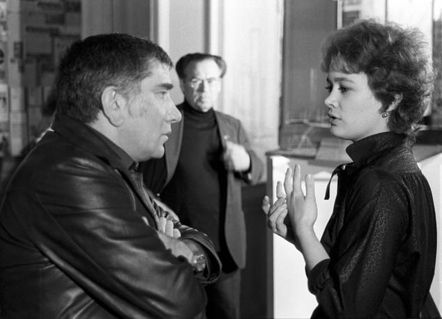 Актеры Армен Джигарханян и Людмила Нильская, 1982 год