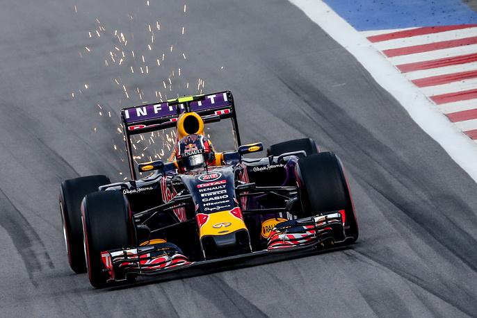 Пилот команды Red Bull Даниил Квят