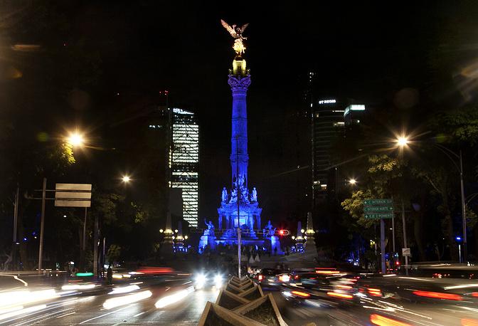 Колонна Независимости, Мехико, Мексика