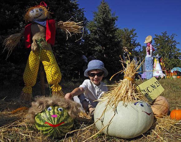 ВВолгоградской области взвесили наибольший арбуз года