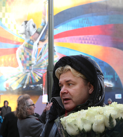 Советский и российский солист балета, режиссер, продюсер Андрис Лиепа