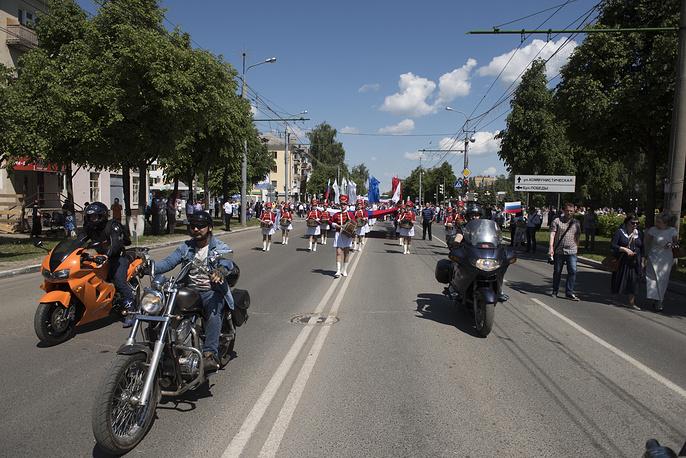 Празднование Дня России в Йошкар-Оле
