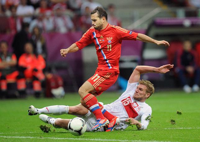 2012 год. Матч Евро-2012 против поляков
