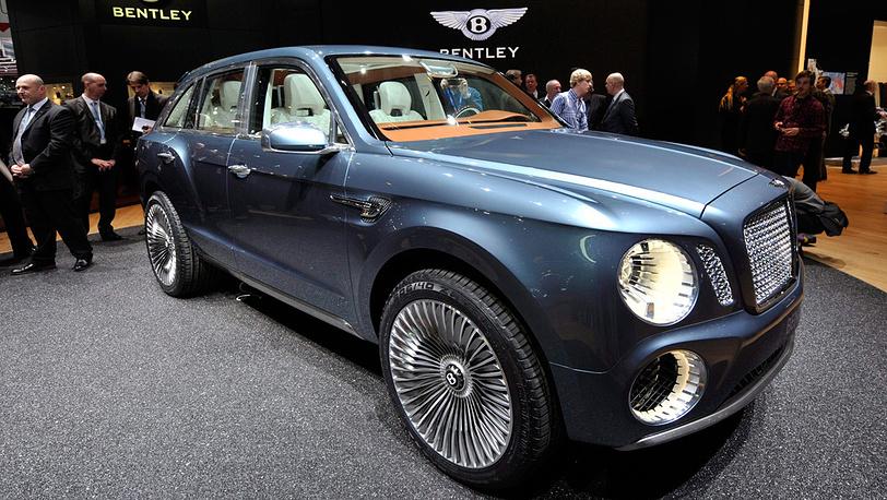 Кроссовер Bentley EXP 9 F