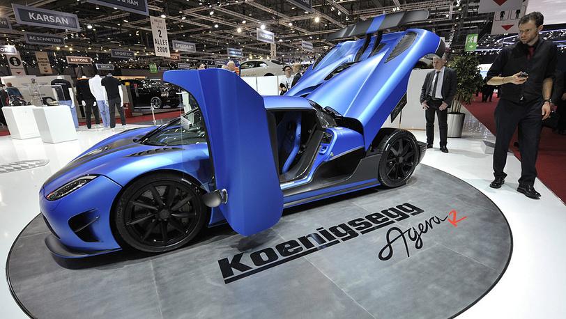 Автомобиль Koenigsegg 2013 Agera R