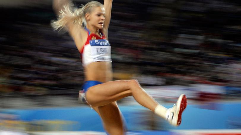 Дарья Клишина заняла четвертое место в прыжках в длину