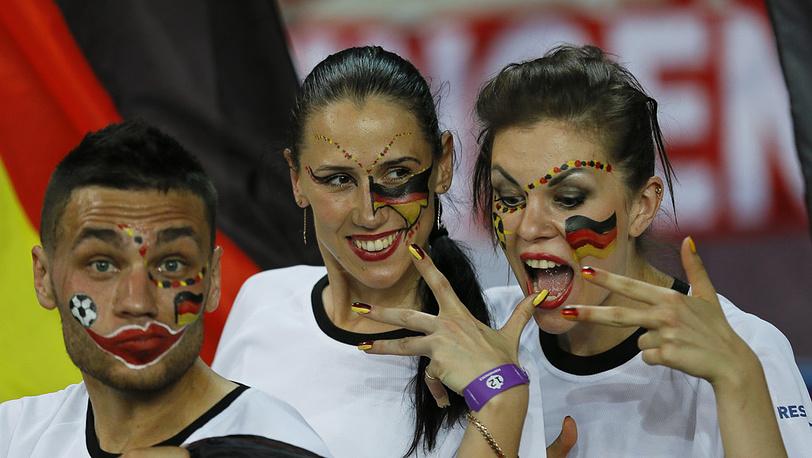Германские болельщики