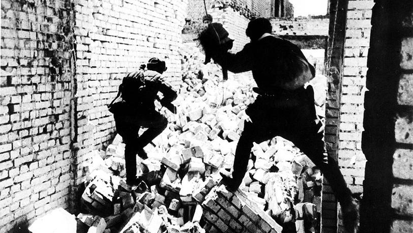 Бои в руинах Сталинграда