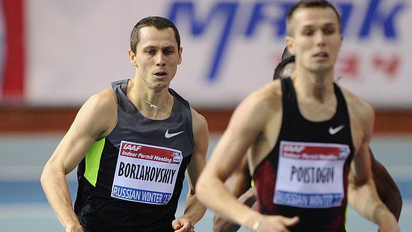 Юрий Борзаковский (слева)
