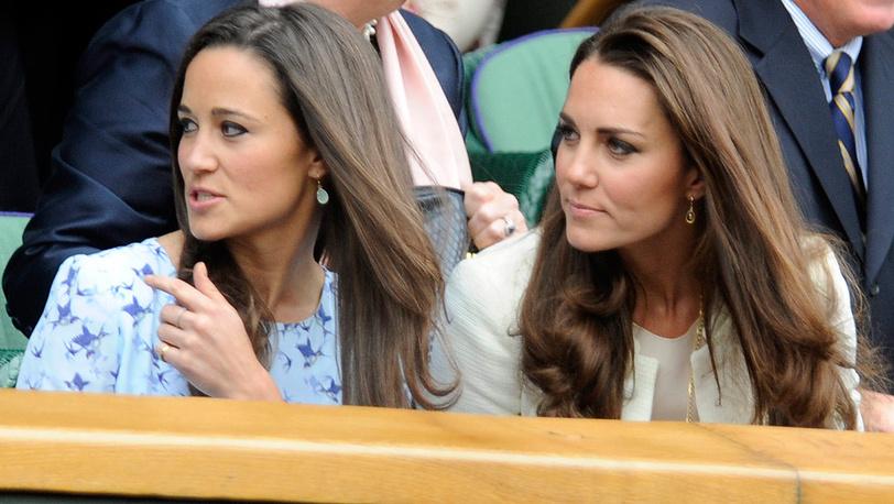 Герцогиня Кембриджская и ее сестра