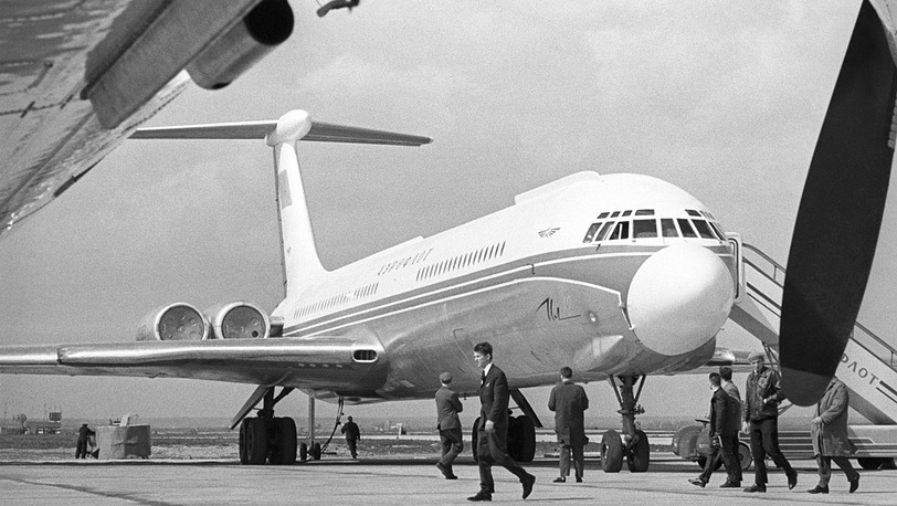 Самолет Ил-62, 1965 год