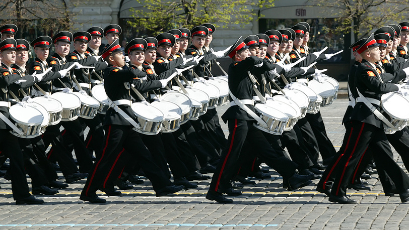 Суворовцы на Параде Победы