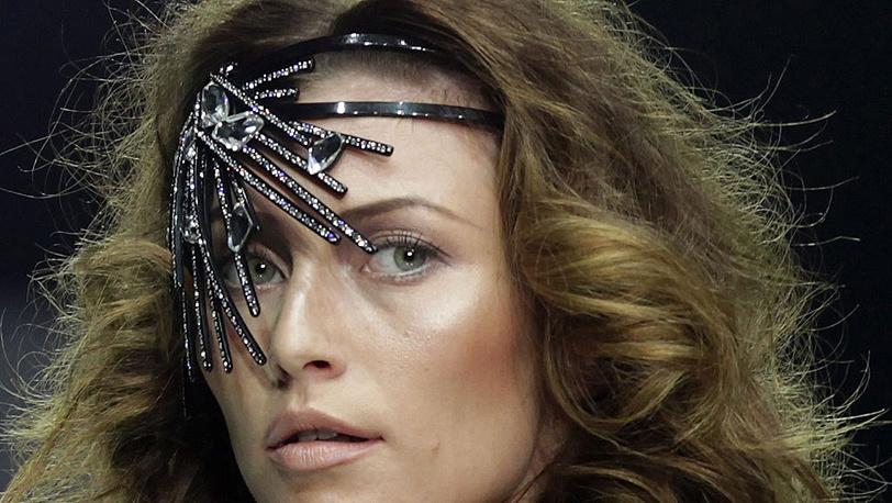 На одном из показов Volvo Fashion Week
