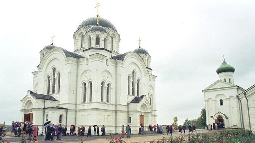 Белоруссия. Крестовоздвиженский собор