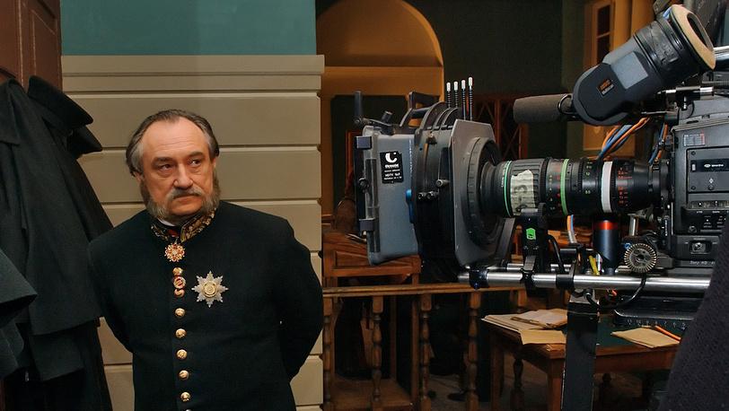 """9. Съемки фильма """"Полонез Кречинского"""". 2006 год."""