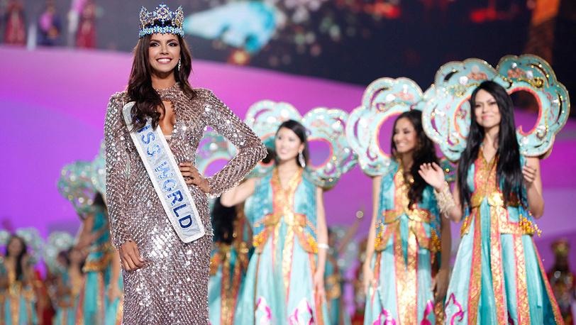 """""""Мисс мира - 2011"""" Ивиан Саркос из Венесуэлы"""