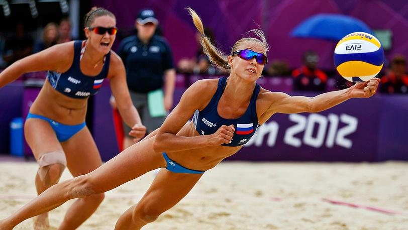 Россиянки Анастасия Васина и Анна Возакова вышли в плей- офф олимпийского турнира по пляжному волейболу