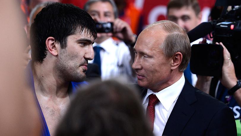 Тагир Хайбулаев и Владимир Путин