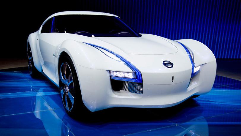 Спортивный электрокар Nissan Esflow