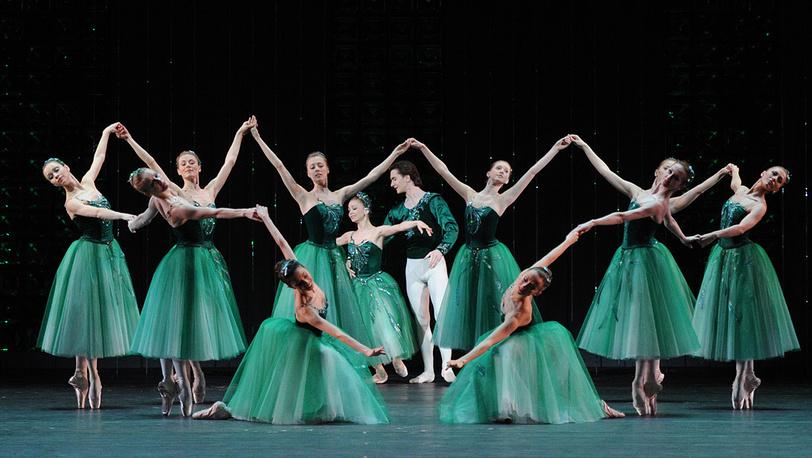 "Сцена из балета ""Изумруды"""