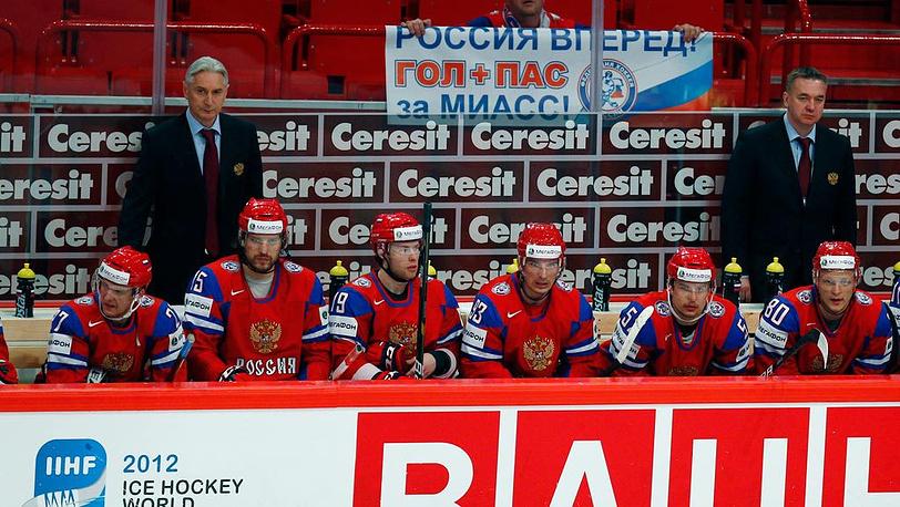 Алексей Терещенко, Александр Свитов, Денис Кокарев, Николай Жердев, Сергей Широков, Евгений Кетов (слева направо)