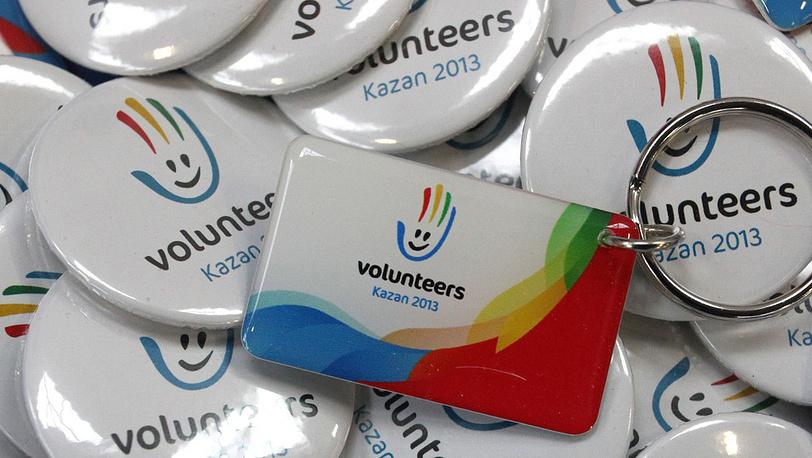 Волонтерские значки
