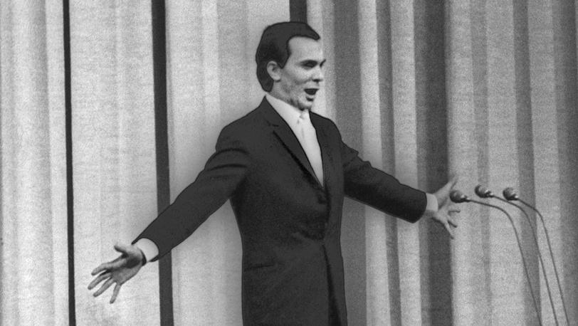 Магомаев выступает в Кремлевском Дворце съездов, 1964 год