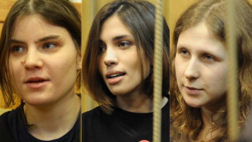 Участницы группы Pussy Riot