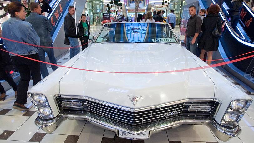Cadillac-Deville, 1968