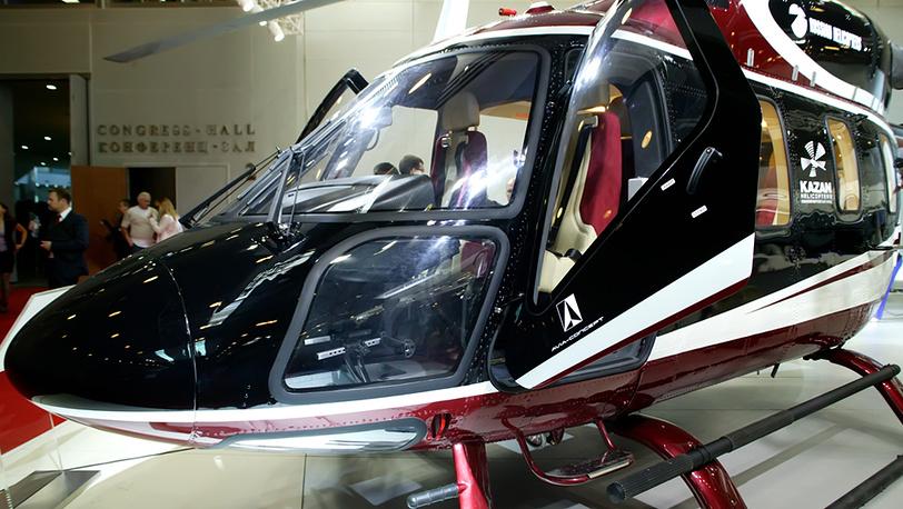 """Вертолёт """"Ансат"""" на выставке HeliRussia-2012"""