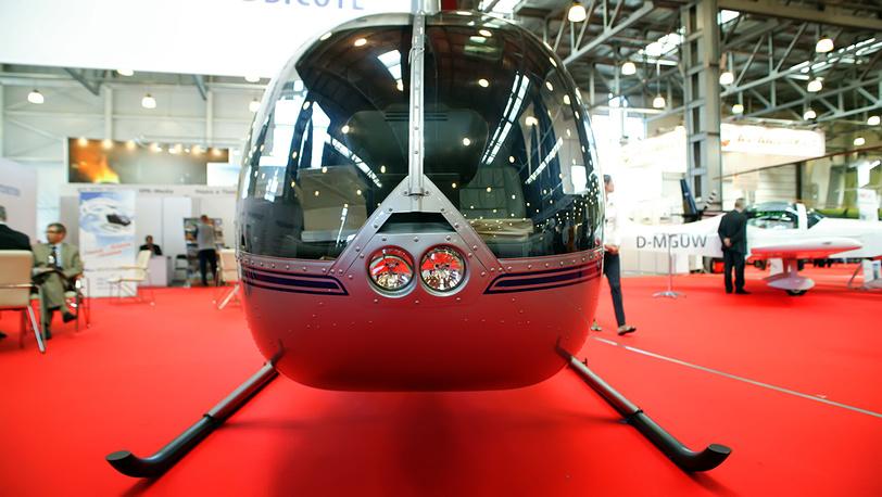 Вертолёт R44 Raven на выставке HeliRussia-2012