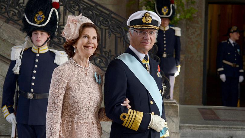 Королева Швеции Сильвия и король Карл XVI Густав