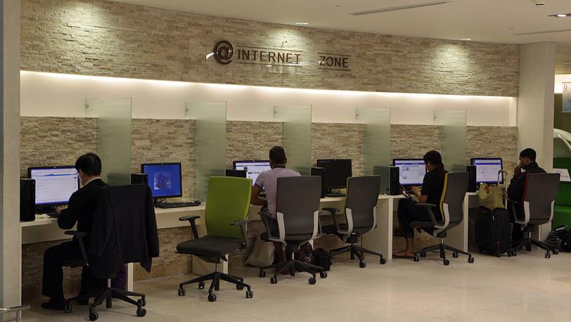 Интернет-кафе аэропорта
