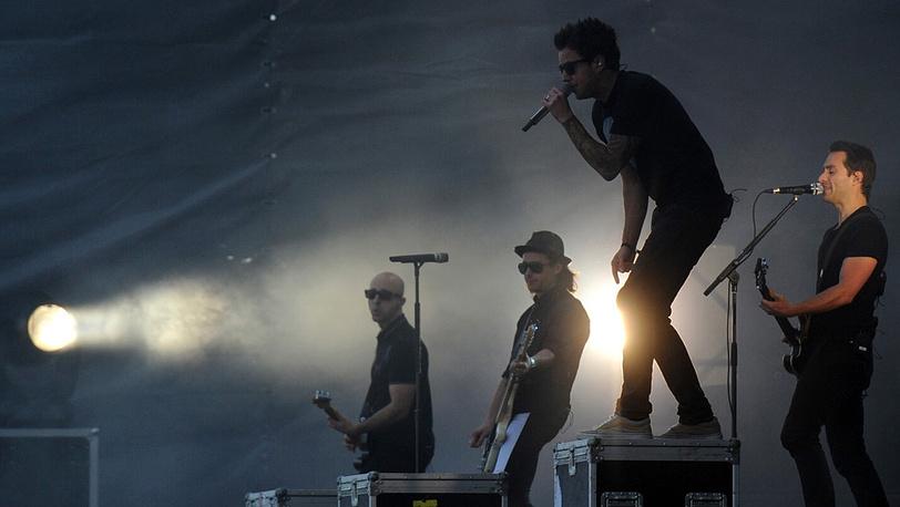"Солист канадской поп-панк группы ""Simple Plan"" Пьер Бувье"