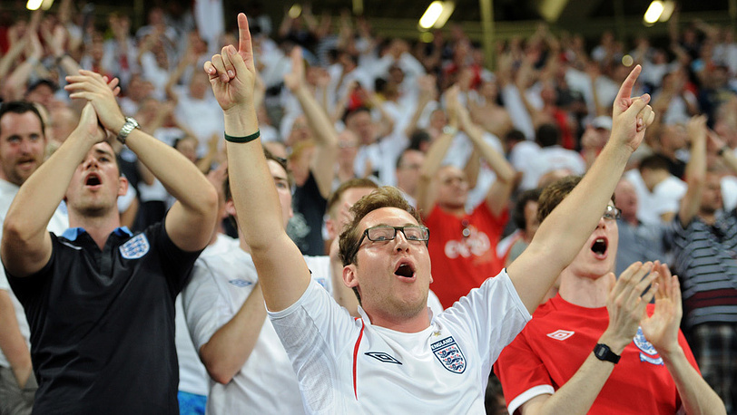 Английские болельщики