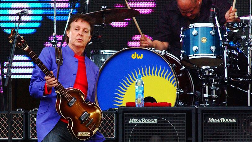Пол Маккартни дал концерт для 60 тысяч зрителей в Петербурге, 2004 год