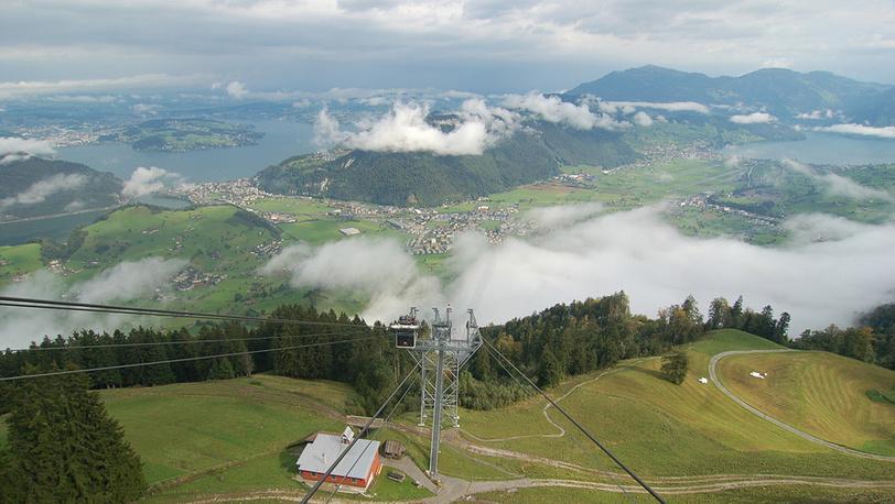 1135 метров подъема за 8 минут и под открытым небом