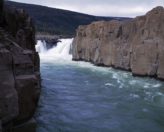 Плато Путорана. Река Малый Хонна-Макит