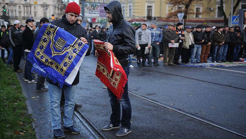 Празднование Курбан-Байрама в Санкт-Петербурге