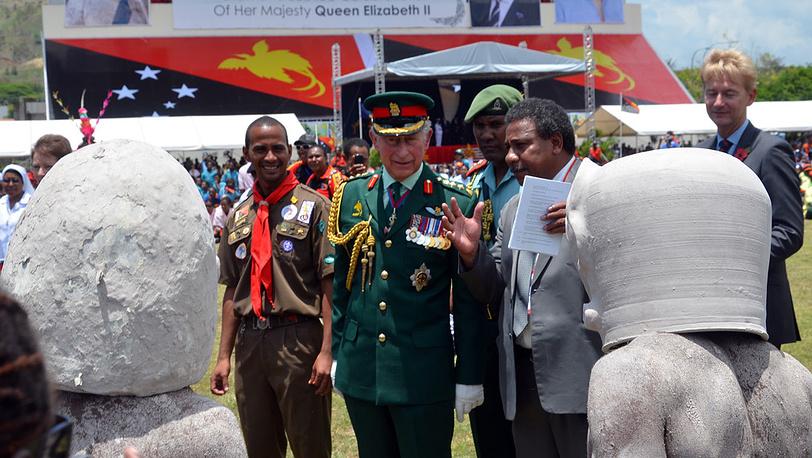 Встреча в Порт-Морсби, Папуа-Новая Гвинея