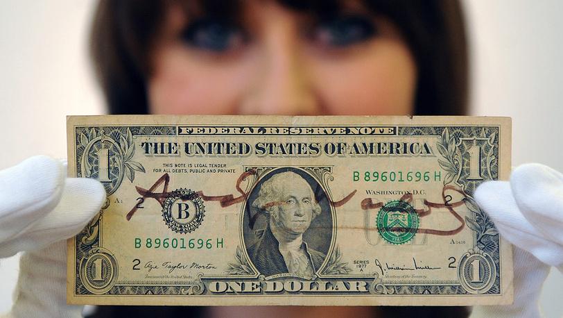 Доллар, подписанный Энди Уорхолом