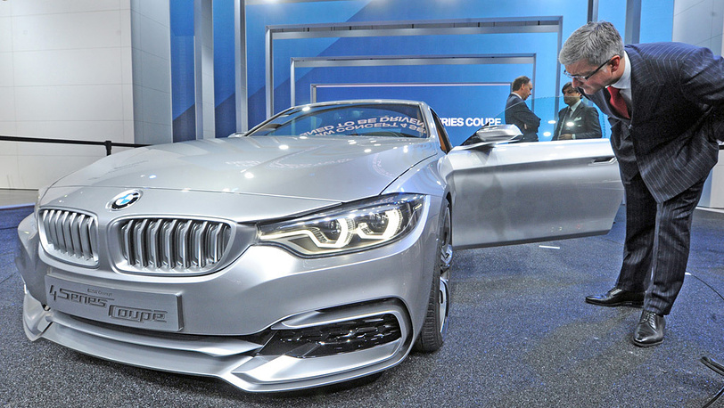 BMW 4er Concept Coupe